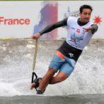 Felipe Miranda marcha segundo en el overall del Mundial de Esquí Náutico