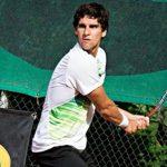 Jorge Montero cayó en la segunda ronda de la qualy del Challenger de Binghamton