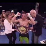 """José """"Pancora"""" Velásquez ganó el título latino Super Gallo de la OMB"""