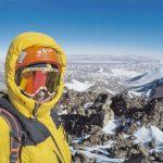 Juan Pablo Mohr logra inédita ascensión invernal del Volcán Nevados Tres Cruces