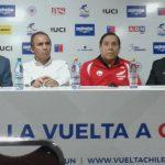 Miguel Droguett y Fernando Vera encabezaron el lanzamiento de la Vuelta a Chile 2017