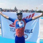 Lucas Silva se tituló campeón mundial de patín carrera en los World Roller Games