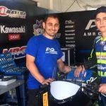 Martin Scheib prepara su debut como piloto de AMR Competición en el Campeonato Español de Velocidad