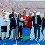 El Fuego de los Juegos Suramericanos de la Juventud llegó al Estadio Nacional