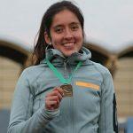 Amanda Cerna fue la gran figura del Segundo Nacional de Atletismo Paralímpico