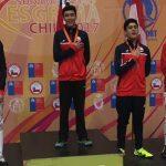 Chile sumó siete medallas en primer día del Sudamericano Pre-Cadetes, Cadetes y Juvenil de Esgrima