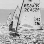 Clemente Seguel marcha en el puesto 49 de la Flota de Plata en el Mundial Laser Standard