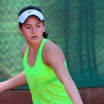 María Paz Núñez es una de las finalistas de la Copa Club de Tenis Inglés