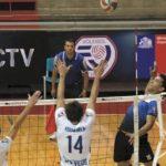 Tres equipos comparten la punta de la competencia masculina de la Liga Chilena A1 de Volleyball