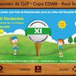 El 15 de noviembre se realizará el XI Campeonato de Golf Copa COAR - Raúl Schönthaler