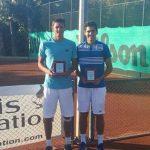 Alejandro Tabilo obtuvo el título de dobles del Futuro 40 de Turquía