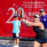 Alexa Guarachi cerró su participación en el torneo WTA de Hong Kong