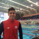 Benjamín Schnapp obtuvo el lugar 29 en la natación de los Juegos Olímpicos de la Juventud