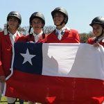 Equipo Pre Junior logra bronce para Chile en el Campeonato Americano de Salto Ecuestre