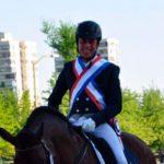Carlos Fernández fue la gran figura del FEI World Dressege Challenge disputado en Santiago