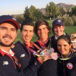 Golfistas nacionales ganaron tres medallas en los Juegos Suramericanos de la Juventud