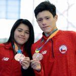 Elías y Catalina Aros ganan medalla de bronce en los clavados de los Juegos Suramericanos de la Juventud