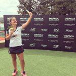 Fernanda Brito se titula campeona del ITF de Villa del Dique