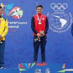 Héctor Quintana logró medalla de oro en la contrarreloj del ciclismo en los Juegos Suramericanos de la Juventud