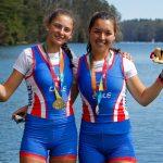 Isidora Niemeyer y Catalina Santiago ganan medalla de oro en el remo de los Juegos Suramericanos de la Juventud