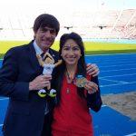 Laura Acuña sumó su segundo oro en el atletismo de los Juegos Suramericanos de la Juventud