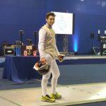 Leopoldo Alarcón sumó otro bronce en esgrima para Chile en los Juegos Suramericanos de la Juventud
