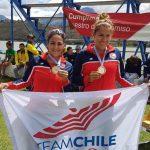 Chile sumó cuatro medallas de oro en la primera jornada del Panamericano de Canotaje