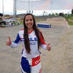 Martina Timis ganó medalla de bronce en el BMX de los Juegos Suramericanos de la Juventud