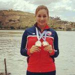 Con cuatro medallas de oro se cerró la participación chilena en el Panamericano de Canotaje