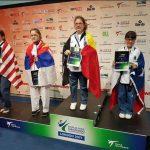 Paloma Martínez y Claudio Fuentes ganaron medallas para Chile en el Mundial de Para Taekwondo