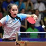 Paulina Vega cerró su participación en la Copa del Mundo de Tenis de Mesa