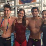Chile sumó un nuevo cuarto lugar en la natación de los Juegos Suramericanos de la Juventud