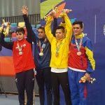 Sergio Rebolledo ganó medalla de plata en el taekwondo de los Juegos Suramericanos de la Juventud