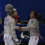 Simran Moolchandaney gana medalla de bronce en la esgrima de los Juegos Suramericanos de la Juventud