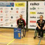 Tamara Leonelli ganó medalla de bronce en el ITTF Sint-Niklaas de Bélgica