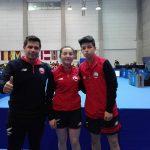 Valentina Ríos y Nicolás Burgos ganan medalla de plata en el tenis de mesa de los Juegos Suramericanos de la Juventud
