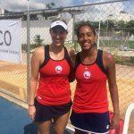 Daniela Seguel y Alexa Guarachi ganan el dobles femenino en el tenis de los Juegos Bolivarianos