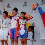 Aranza Villalón ganó la contrarreloj femenina en el ciclismo de los Juegos Bolivarianos 2017