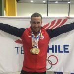 Pesista Arley Méndez entrega tres medallas de oro a Chile en los Juegos Bolivarianos 2017