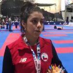 Carolina Videla le entregó el primer oro al karate chileno en los Juegos Bolivarianos