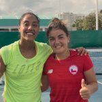 Daniela Seguel y Fernanda Brito jugarán por la medalla de bronce del tenis en los Juegos Bolivarianos 2017