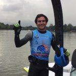 Emile Ritter gana medalla de oro en el esquí náutico de los Juegos Bolivarianos