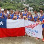 El remo le entrega cuatro medallas de oro a Chile en los Juegos Bolivarianos 2017