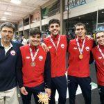 La esgrima le entrega una nueva medalla a Chile en los Juegos Bolivarianos 2017