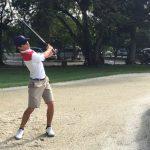 Joaquín Niemann se mantiene en la lucha por las medallas en el golf de los Juegos Bolivarianos