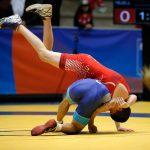 Juan Pablo Peralta gana medalla de bronce en la lucha olímpica de los Juegos Bolivarianos 2017