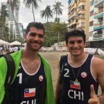 Primos Grimalt disputarán la medalla de oro en el volleyball playa de los Juegos Bolivarianos