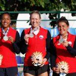 Equipo femenino de tenis se quedó con la medalla de oro en los Juegos Bolivarianos