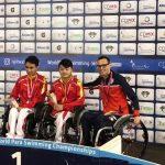 Alberto Abarza suma una nueva medalla de bronce en el Mundial de Natación Paralímpica