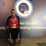 Alberto Abarza es candidato al Mejor Deportista Paralímpico de América 2018